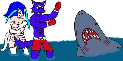 Roypaladin vs JAWS by evil-ed316