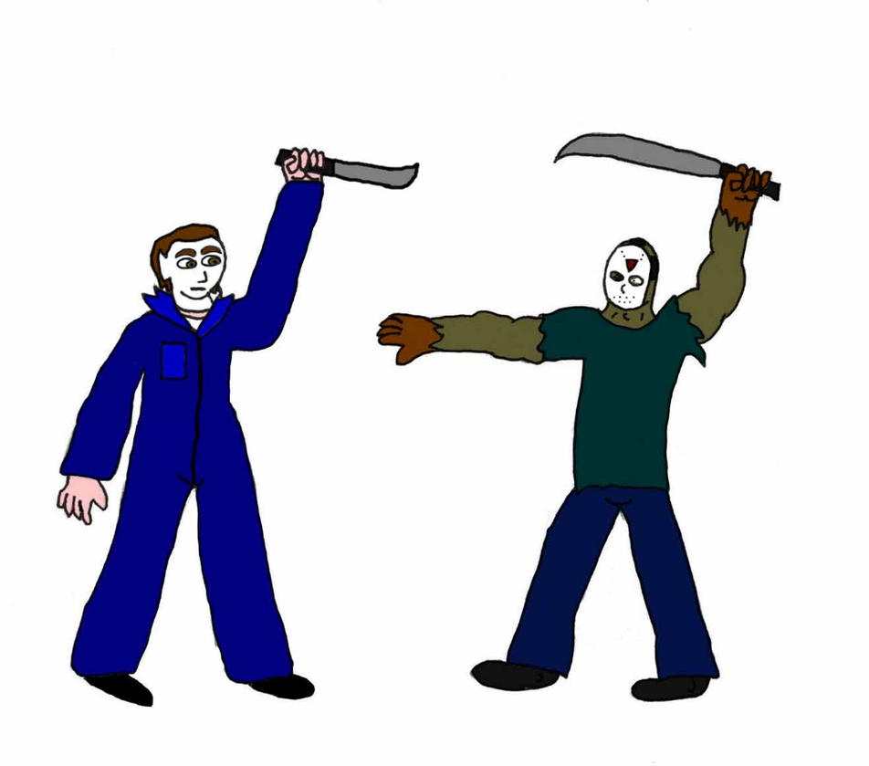 Jason Voorhees Vs Michael Myer By Evil Ed316
