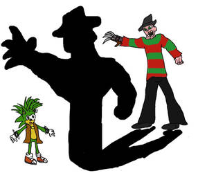 Freddy vs Manic by evil-ed316