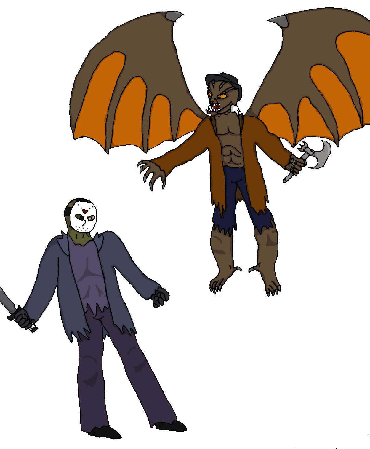 Jeepers Creepers Vs Jason Jason vs the creeper by evil-Jeepers Creepers Vs Freddy Krueger