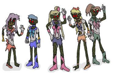 Zombie Senshi by evil-ed316