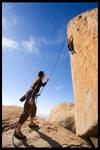 Climbing Uncertainty Principle