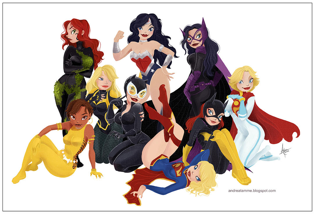 DC Ladies by AndreaTamme