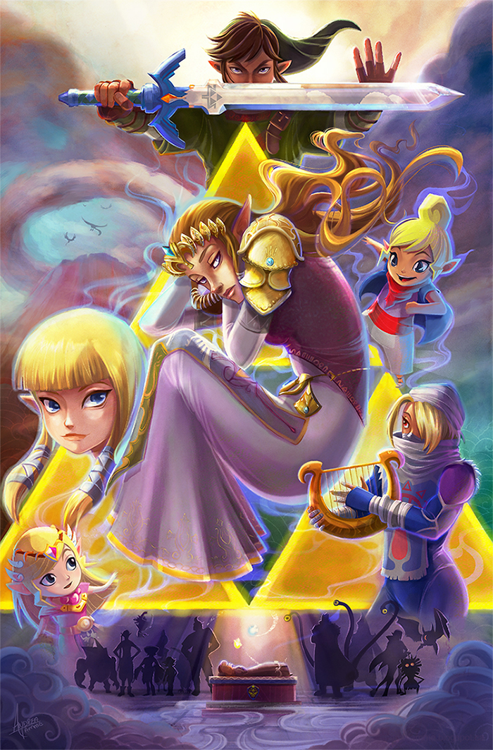 Zelda Tribute by AndreaTamme
