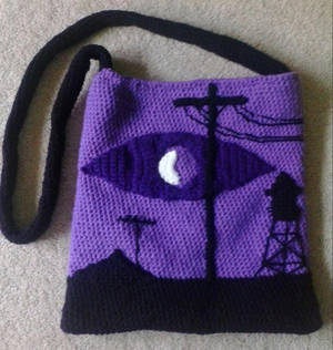 Welcome to Night Vale Crocheted Bag