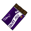Dairy Milk Chocolate Bar Icon V2 by NuclearJackal