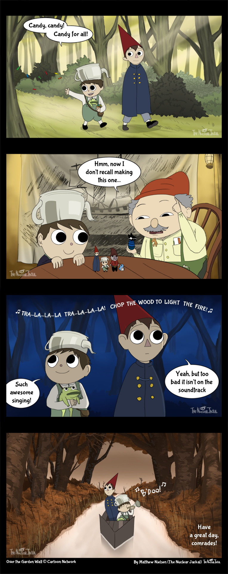 over the garden wall mini comic by nuclearjackal - Over The Garden Wall Comic
