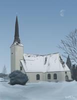 Voyrin kirkko (Voyri Church) by NuclearJackal