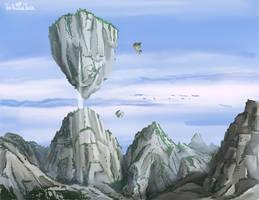 Hourglass Mountain by NuclearJackal