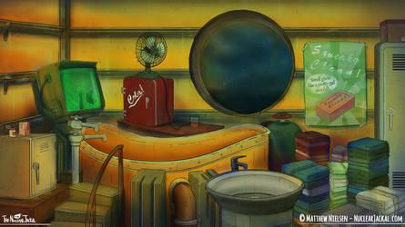 Engine Otto's Bathroom by NuclearJackal