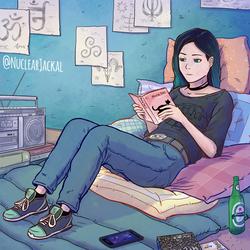 Reading by NuclearJackal