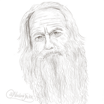 Old Man with Beard by NuclearJackal