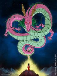 Shenron Poster (Pink variant)