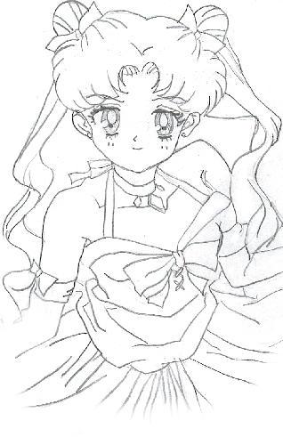 princess sailor moon coloring pages - photo#36