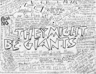 TMBG Lyrics Collage by trekkiekidmaddie