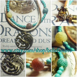For Sale - 'Mother of Dragons' bracelet by dimebagsdarrell