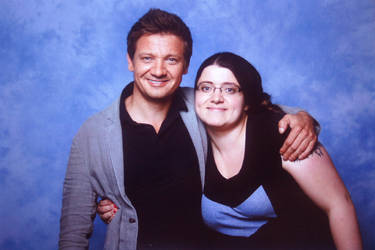 Me and Jeremy Renner Lfcc 2016 by dimebagsdarrell