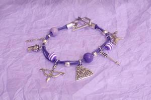 Hawkeye Theme Charm Bracelet