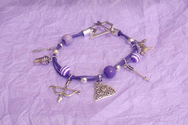Hawkeye Theme Charm Bracelet by dimebagsdarrell