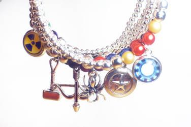 Avengers Inspired Bracelets now for sale by dimebagsdarrell