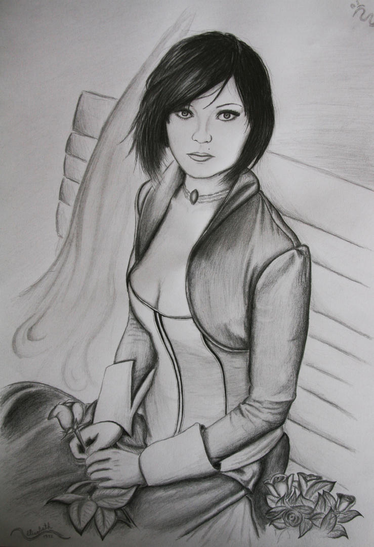 Elizabeth (Bioshock Infinite) by 1996ds