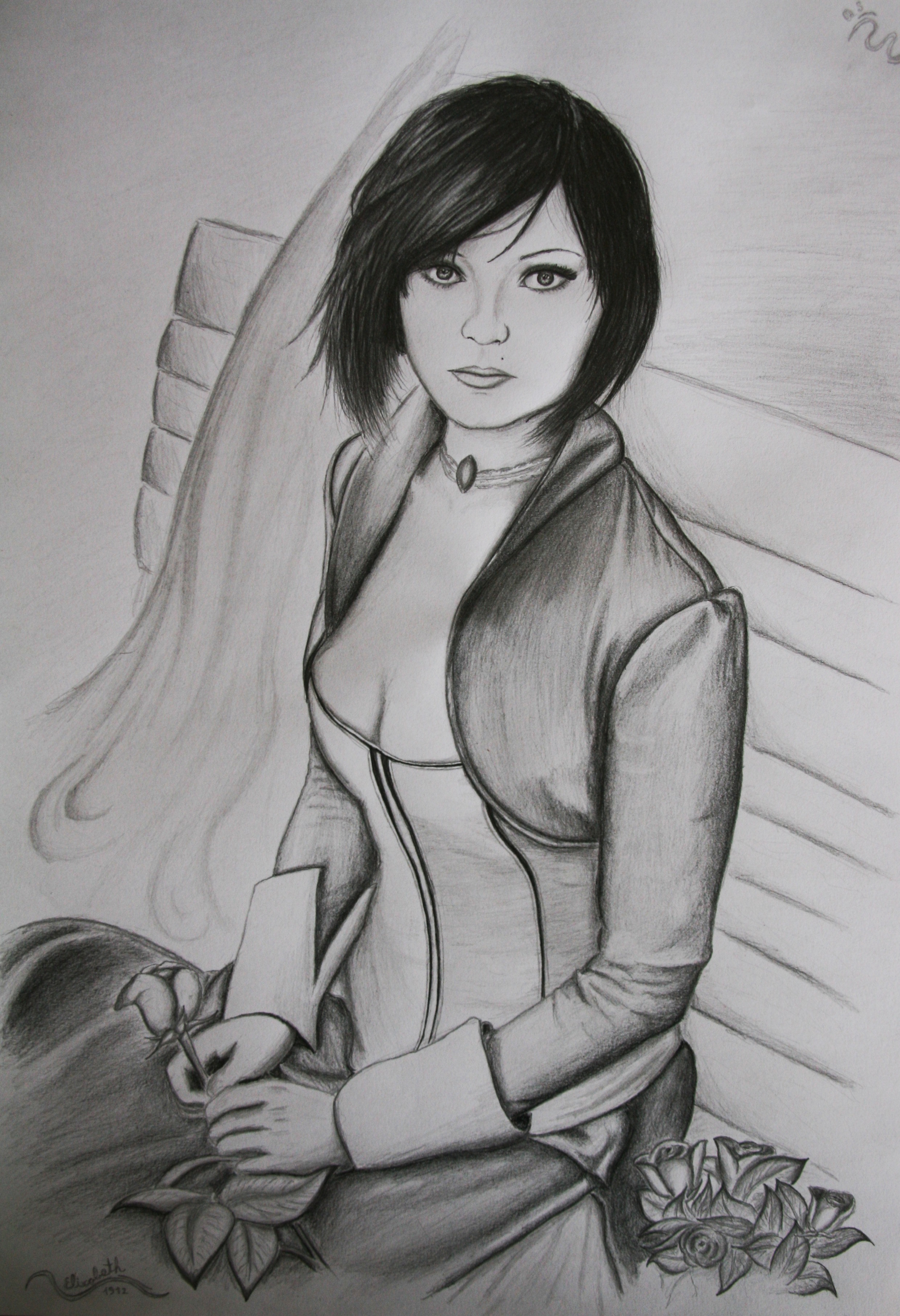 Elizabeth (Bioshock Infinite) by 1996ds