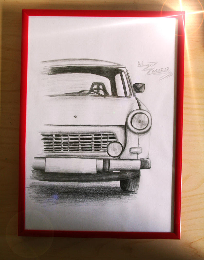Trabant 601 by 1996ds