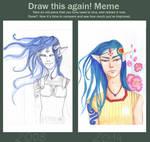 Draw this again meme - Irai