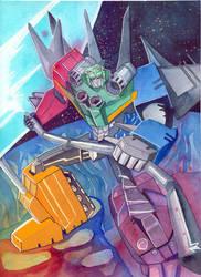[ Transformers ] Liokaiser by Ailantan
