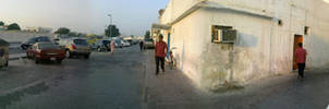 panoramic Street view by AddyKing