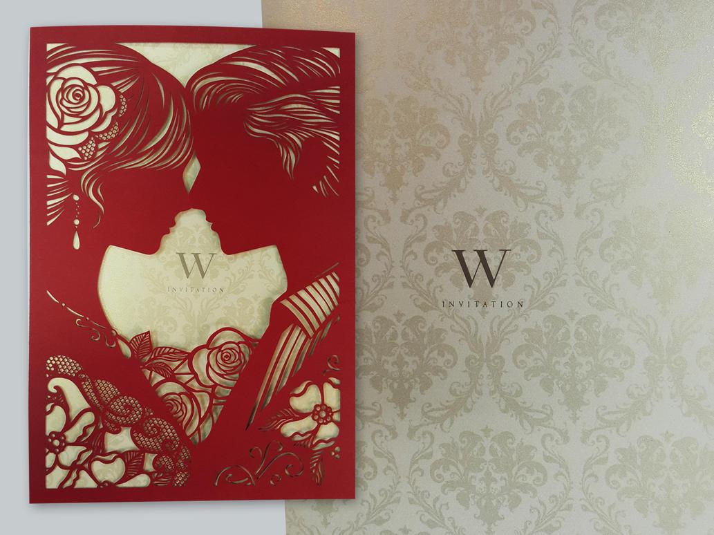 Wedding Invitation by AddyKing