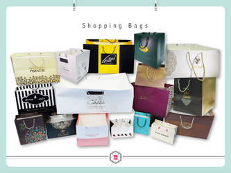 Shopping Bags by AddyKing