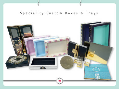 Speciality Custom Boxes and Trays