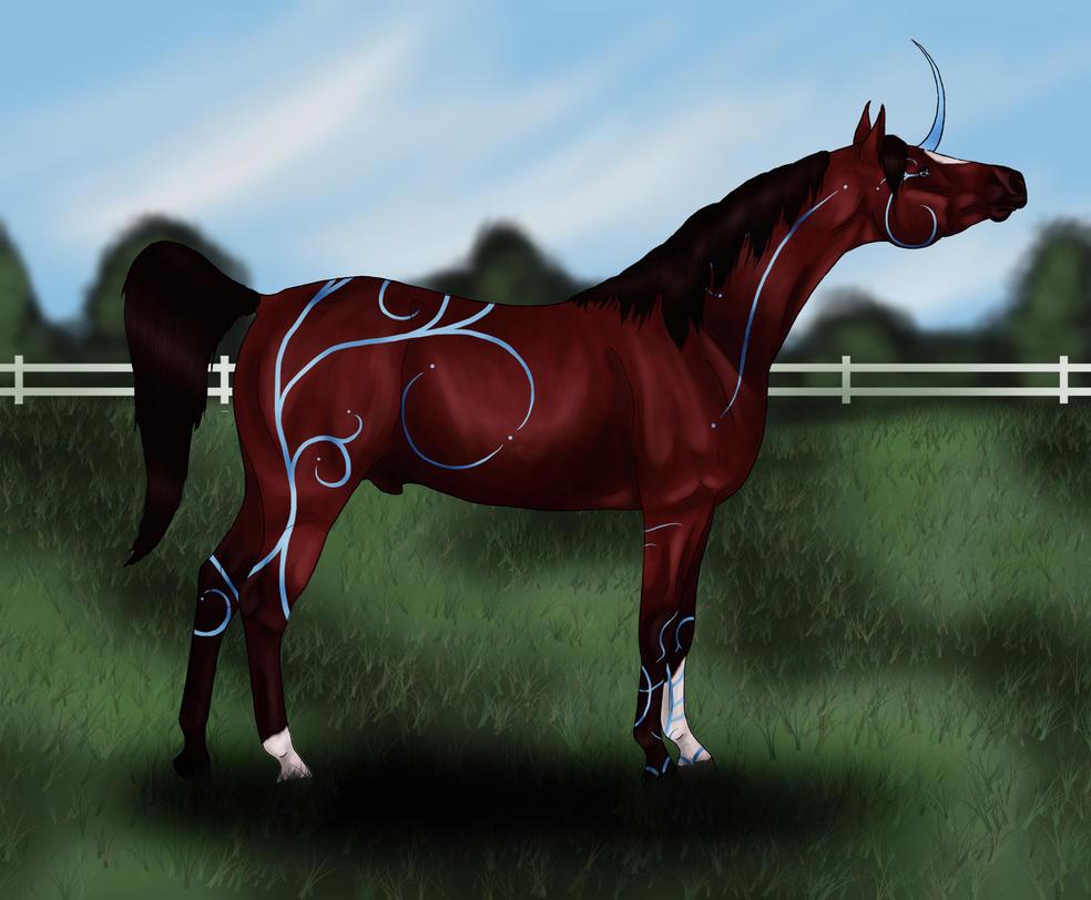 BCS Rannok - 3 Star Spirit Horse, 4 Star Dressage by cheddarbug