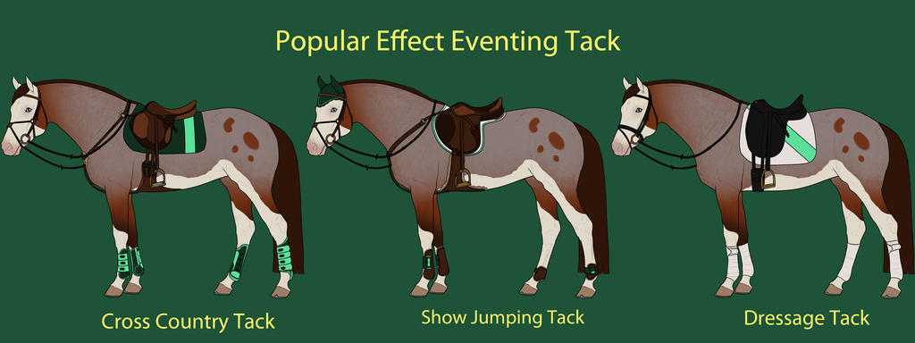 Popular Effect Eventing Tack by cheddarbug