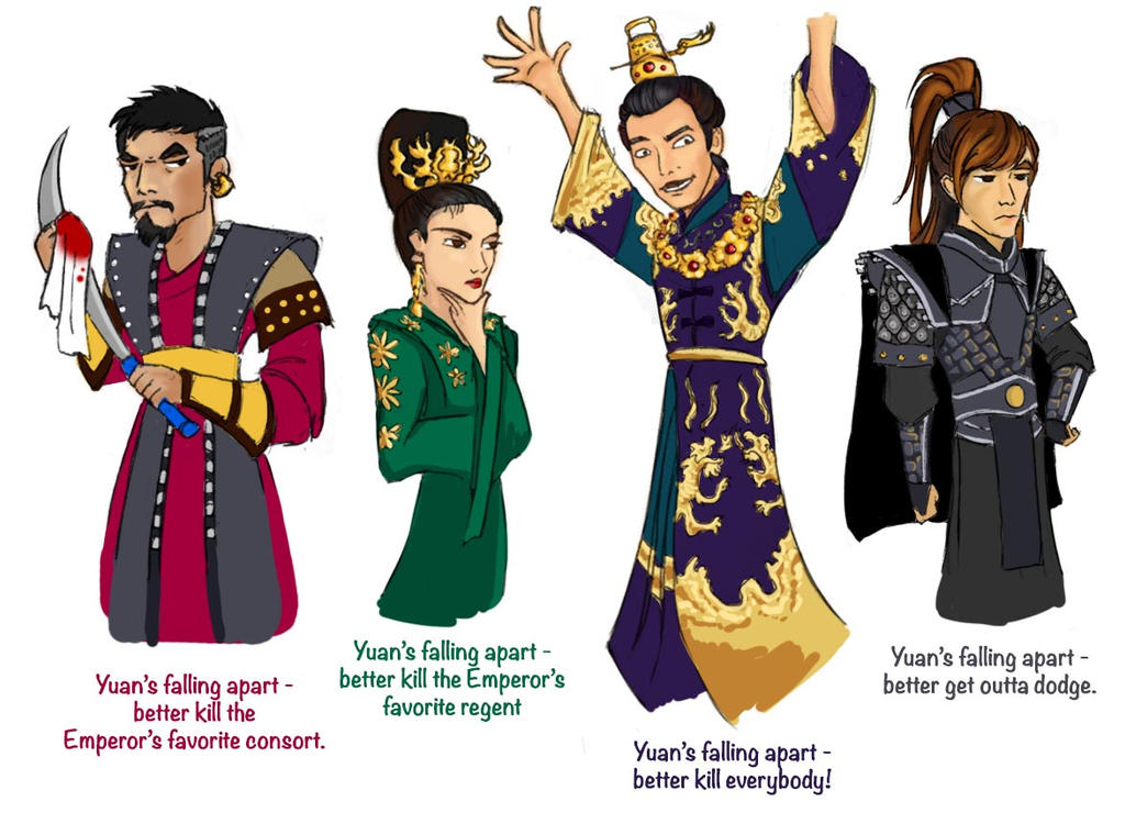 Empress Ki by Brokenfangs on DeviantArt Quotes About Falling Apart