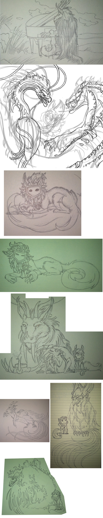 Troll Sketchdump 3: Also Giant by Brokenfangs