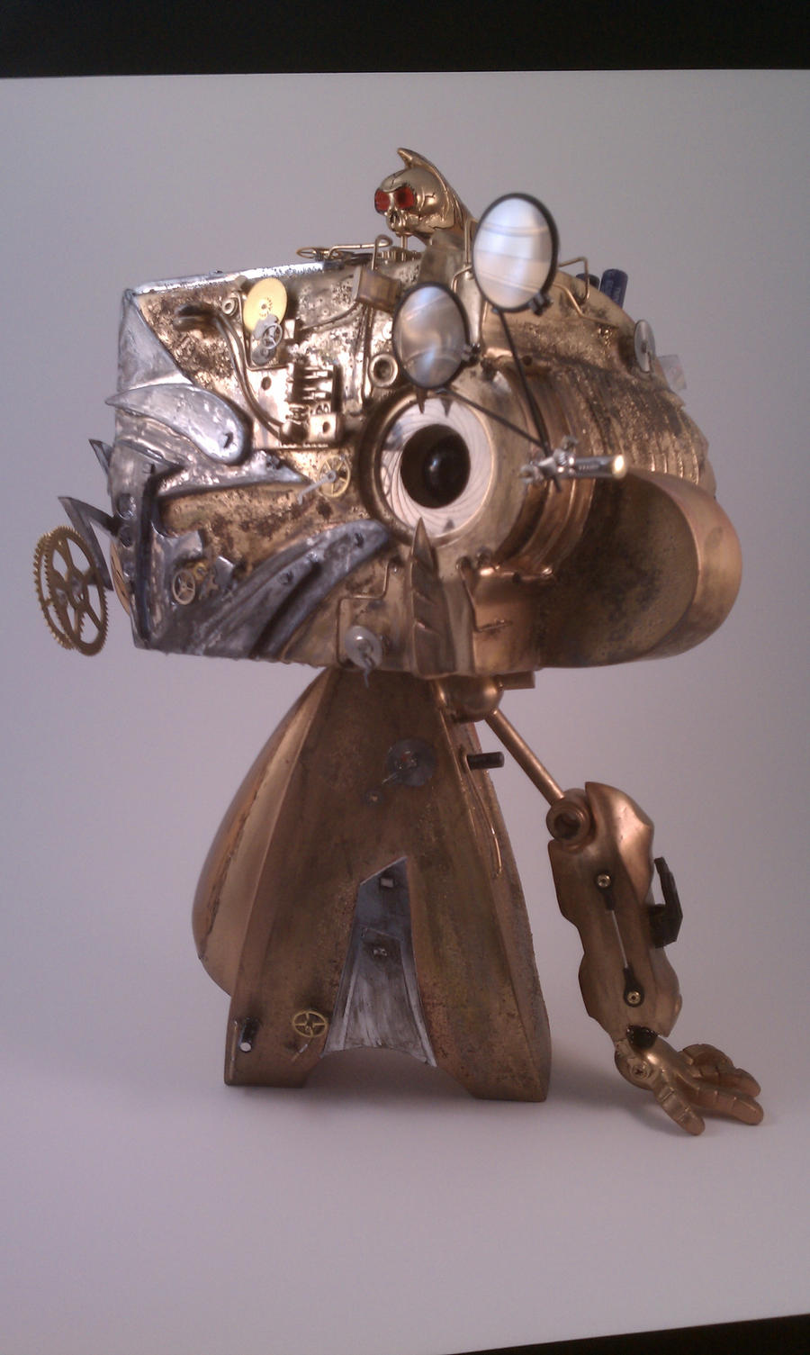 Robotic Mad L Steampunk by MattAcustoms