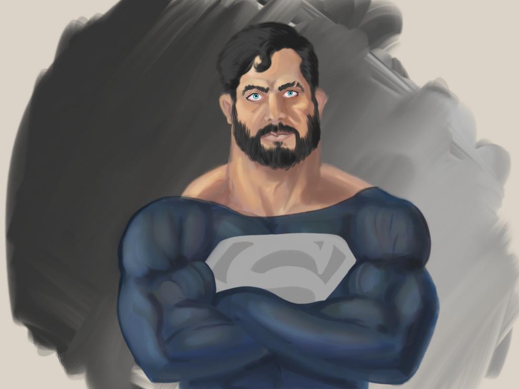 Bearded Superman Bearded Superman Paint...
