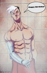 Shiro Shower Scene Commission by Figgs45