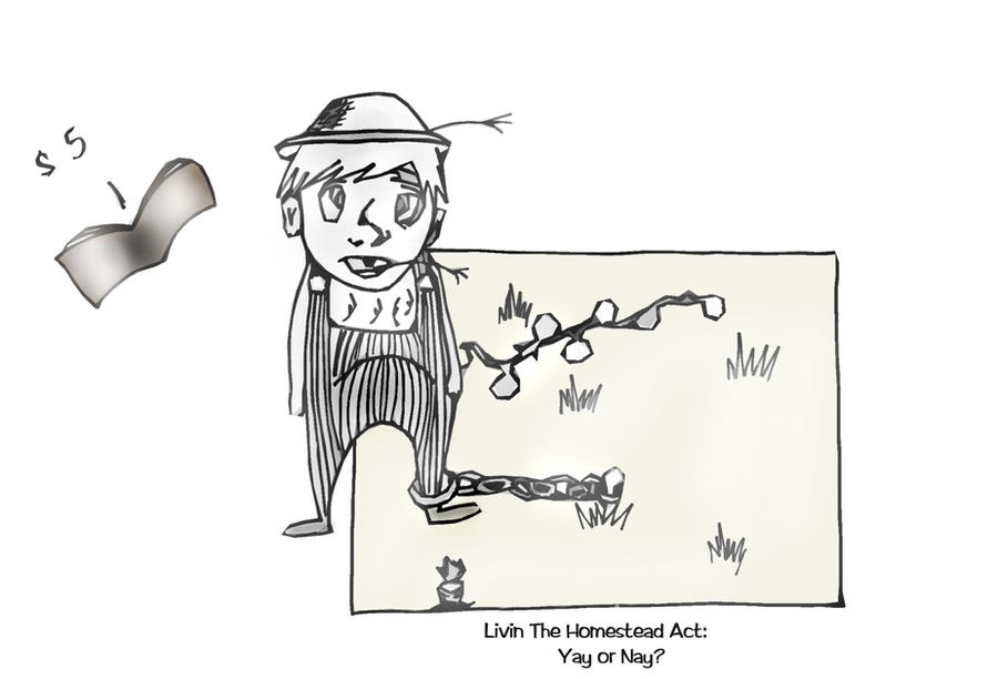 The Homestead Act by madisonicole on deviantART