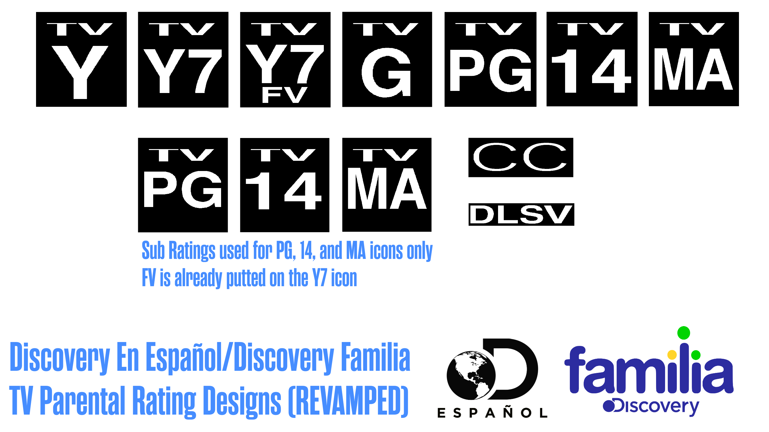 Discovery En Espanol/Familia Rating Design REVAMP by