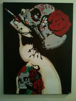 Dia de los Muertos by neversummer160