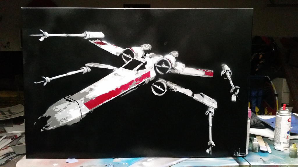 X-wing by neversummer160