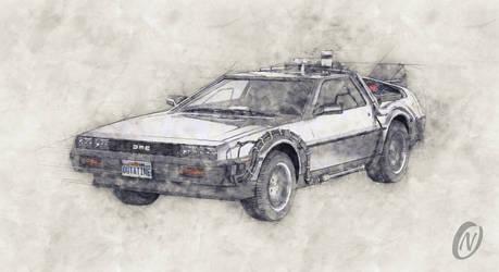 DeLorean DMC-12 Back To The Future Episode 1