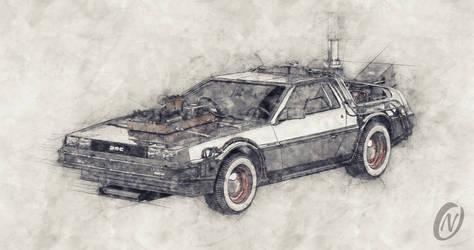 DeLorean Back To The Future Episode 3