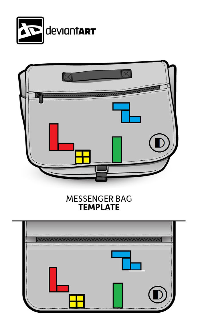 Tetris bag by drummerkidd12