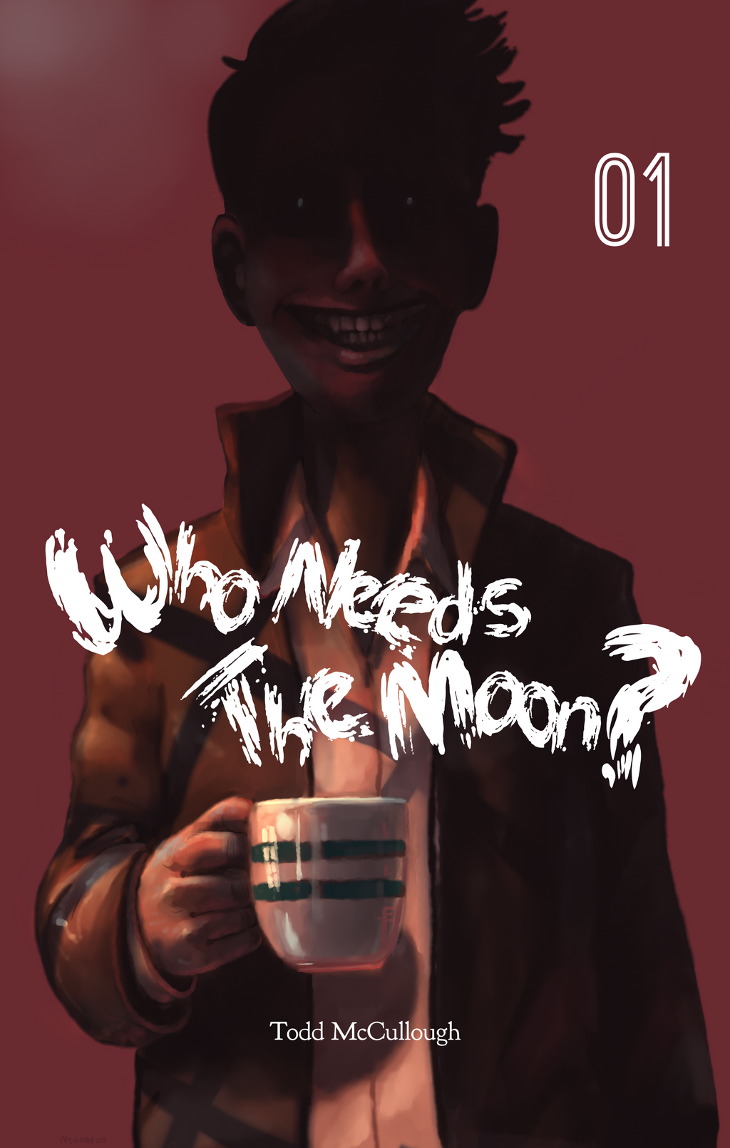 Who Needs the Moon #1 Cover by tamccullough