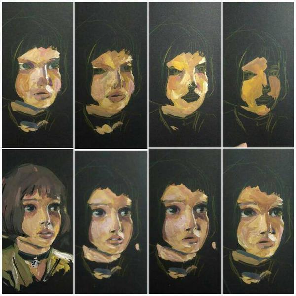 mathilda wip by mariam-ART