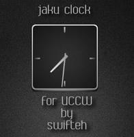 jaku clock for UCCW by ryan1mcq